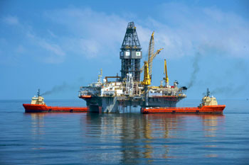BP Transocean drill rig