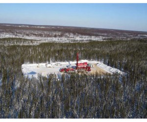 Oil Sands Quest drill site